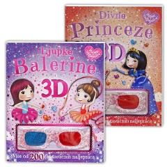 3D PRINCEZE/BALERINE