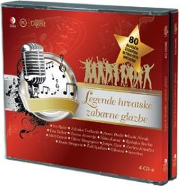 CD-LEGENDE ZABAVNE HRVATSKE GLAZBE
