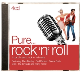 CD-PURE...ROCK 'N ROLL (4CD)