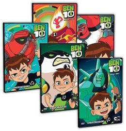 DVD-BEN10 SEZ.1 (5 DVD)