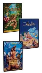 DVD-TARZAN/ALADIN/LEGENDA O MEDVJEDU