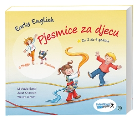 EARLY ENGLISH-PJESMICE ZA DJECU+CD