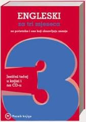 ENGLESKI ZA TRI MJESECA + CD