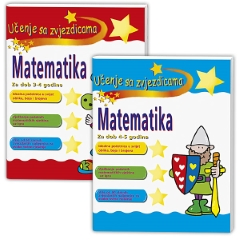 MATEMATIKA-KOMPLET 3-5 GODINA