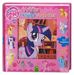 MY LITTLE PONY-VELIKA KNJIGA SLAGALICA
