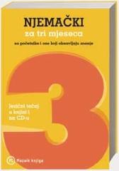 NJEMAČKI ZA TRI MJESECA + CD