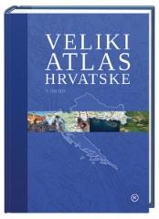 VELIKI ATLAS HRVATSKE-NOVO